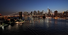new-york-city-skyline-sunset-evening_4kv