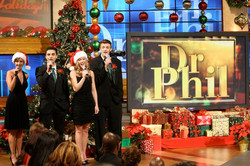 Carolers on Dr. Phil
