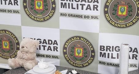 Brigada Militar prende mulher por tráfico de drogas em Ijuí