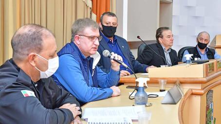 Governo Municipal, vereadores e empresários vão analisar mudanças no rotativo