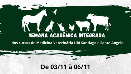 1ª Semana Acadêmica de Veterinária da URI integra os câmpus de Santo Ângelo e Santiago
