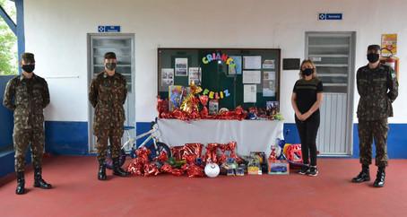 1º Batalhão de Comunicações Campanha de Arrecadação de Brinquedos para o do Dia das Crianças