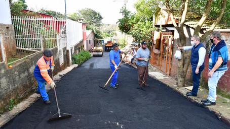 Bairros recebem obras de asfalto e estão previstas melhorias na iluminação
