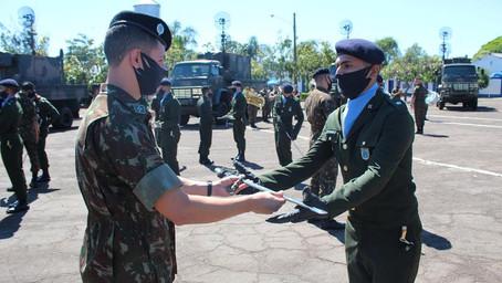 1º Batalhão de Comunicações – Formatura de Aspirantado do NPOR