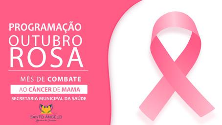 Saúde abre programação do Outubro Rosa nesta sexta-feira