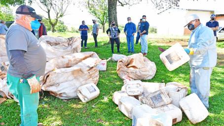 Campanha Campo Limpo recolhe cerca de três mil embalagens diárias