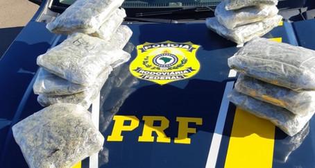 PRF prende traficante transportando skunk em Rosário do Sul