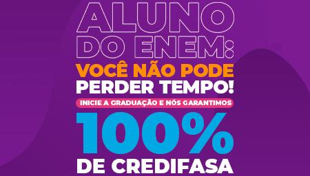 VESTIBA 2021 - FASA garante 100% de Crédito Estudantil aos alunos que participaram do ENEM neste ano