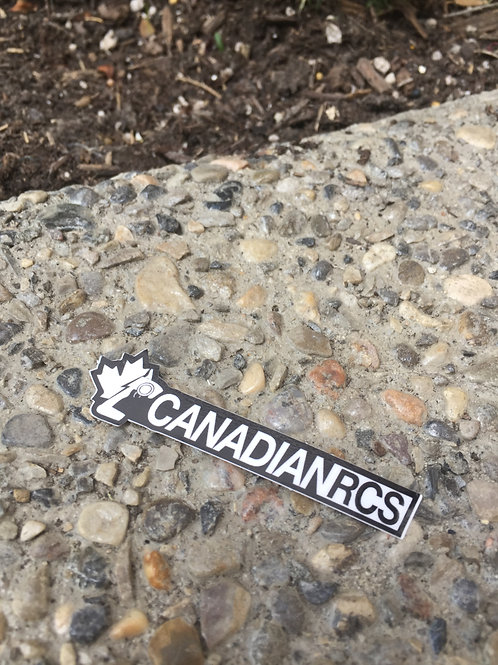 CANADIANRCS banner stickers