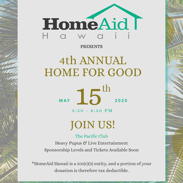 Home for Good Fundraiser Reception