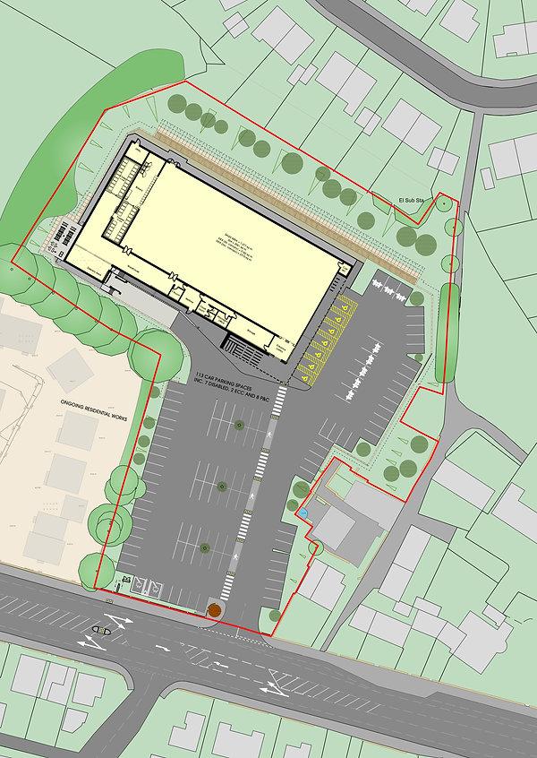 1814 PSK411 Proposed Site Plan OVERLAY.j