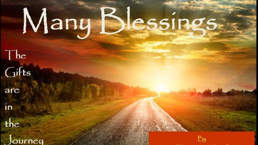 MANY BLESSINGS in DVD by Rev. Elaine M. Whitefeather