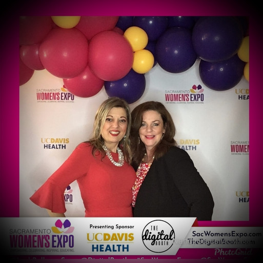 Nancy and Colleen at Sacramento Women's Expo 2019