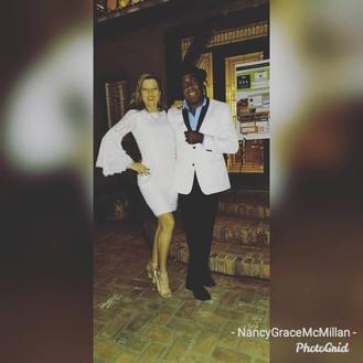Nancy Grace and Clemon Charles