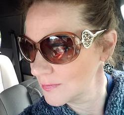 Designer Heart Sunglasses