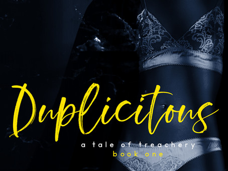 Duplicitous is coming! Jayden and Mr. Hunter are up to no good.