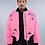 Thumbnail: Men's Bomber Jacket - Pink Patch