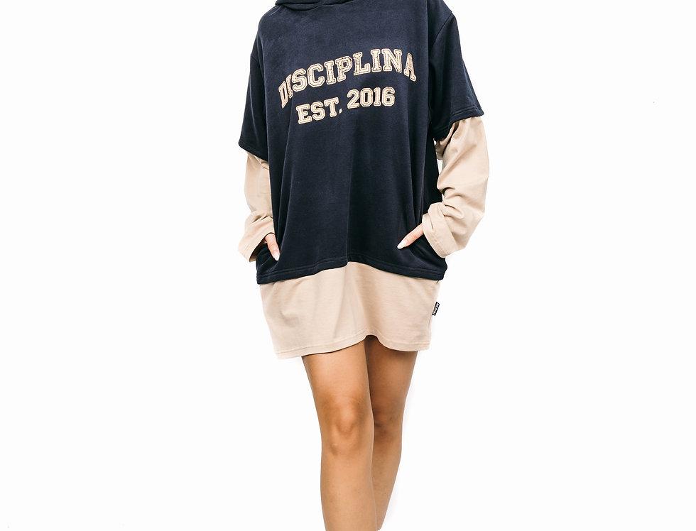 Collage sweatshirt - Navy College