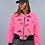 Thumbnail: Bomber Jacket - Pink Patch