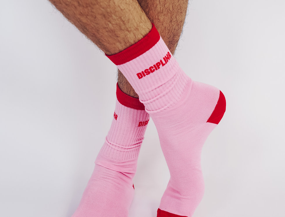 Disciplina colorful  socks