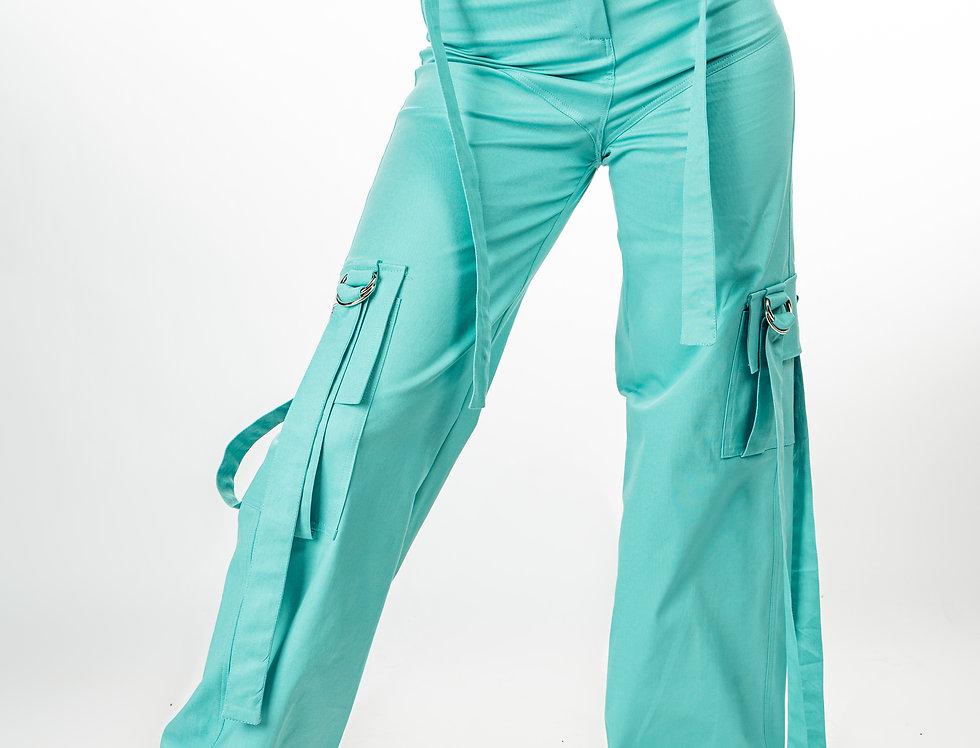 Pantalone - Mint Stripe