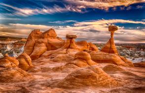 Toadstool Hoodoos - Arizona