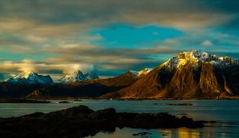 Sunrise on Sandøya