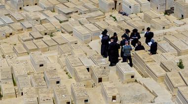 Friedhof auf dem Ölberg in Jerusalem
