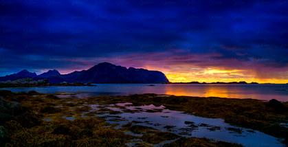 Sunset on Sandøya 3
