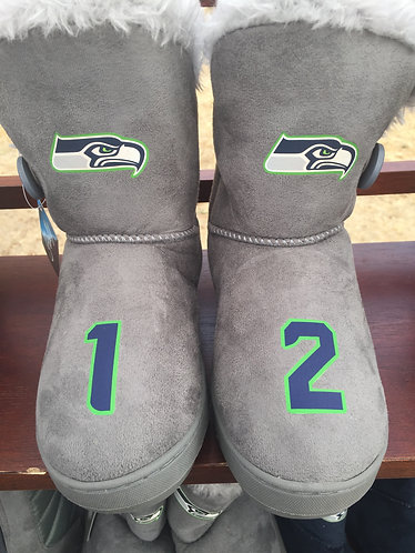 Seahawks Boots