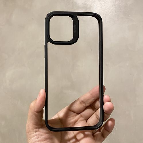 BLACK - CLEAR ESR PHONE CASE