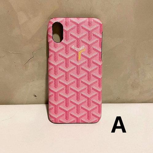 IPHONE X/XS HARD CASE A to E