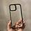 Thumbnail: BLACK - CLEAR ESR PHONE CASE