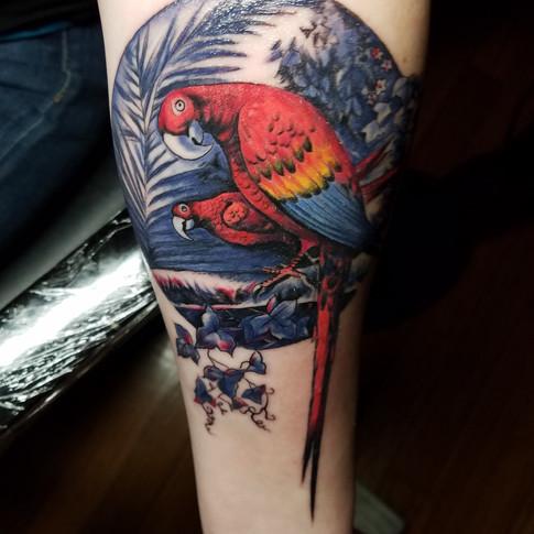 Illustrative Tattoo