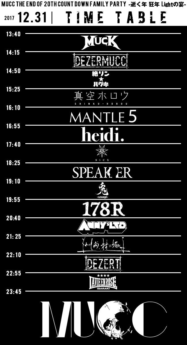 2017.12.31(sun) 水戸Light HOUSE