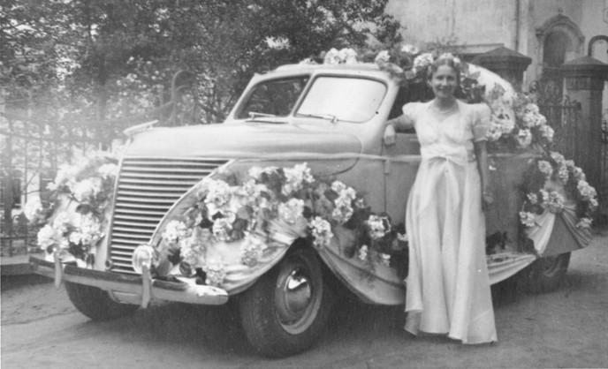 Louise Walter, corso fleuri 1931