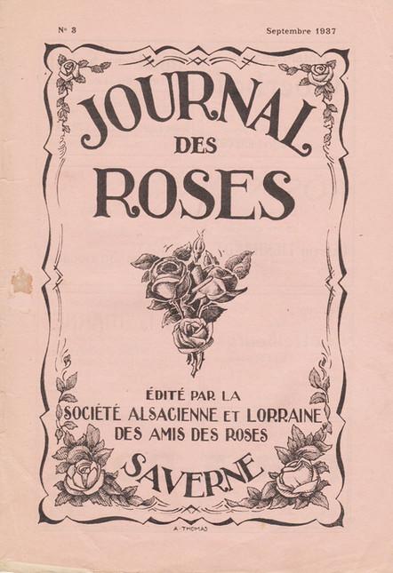 Journal des Roses 1937