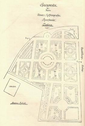 Projet de plan 1900