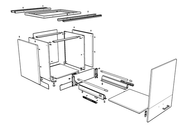 Technical Drawings (kitchen carcass)