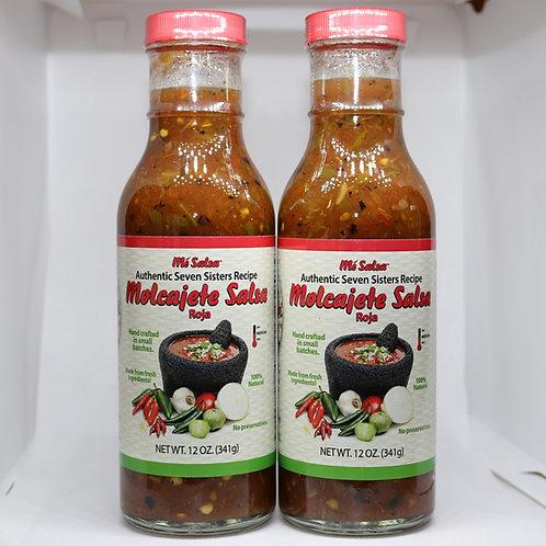 Me Salsa Molcajete Style Roja - 2 Pack