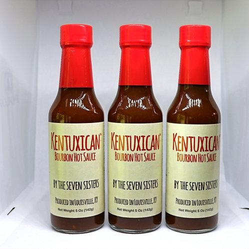 Kentuxican Bourbon Hot Sauce - 3 Pack