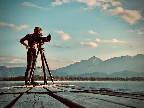 Herr Sander filmt Imagefilm