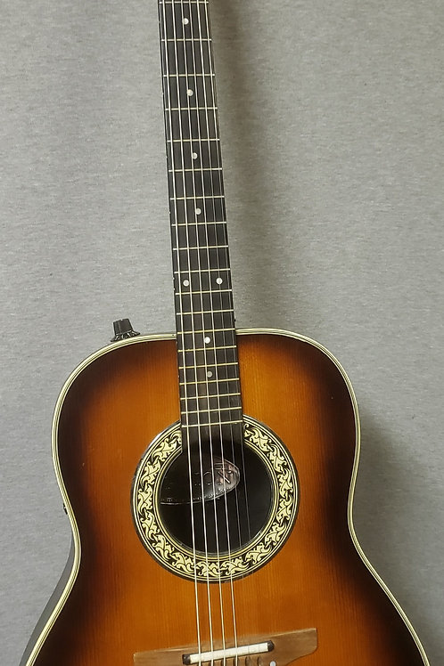Ovation 1621-1 Balladeer with Hard Shell Case - Late 1970s