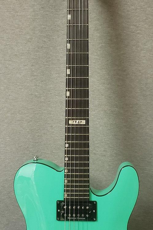 ESP LTD Eclipse 87 NT Electric Guitar - LECLIPSENT87NTTURQ