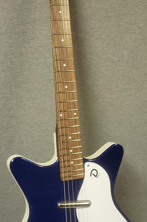 Danelectro '59M NOS+ Blue Metalflake