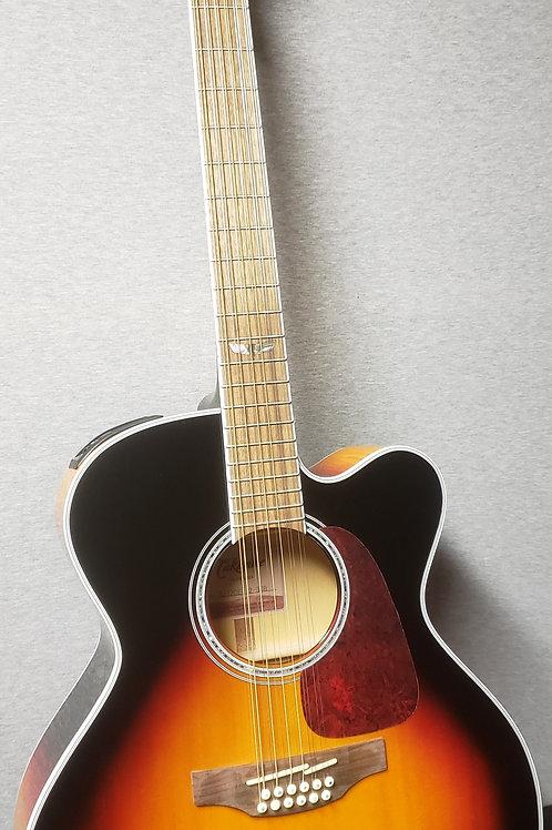 Takamine GJ72CE-BSB Jumbo 12 String Guitar