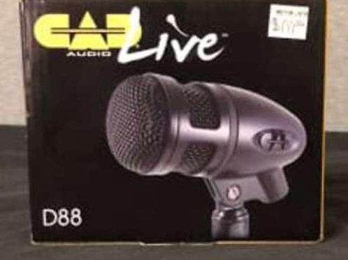 CAD D88 Supercardioid Kick Drum Microphone