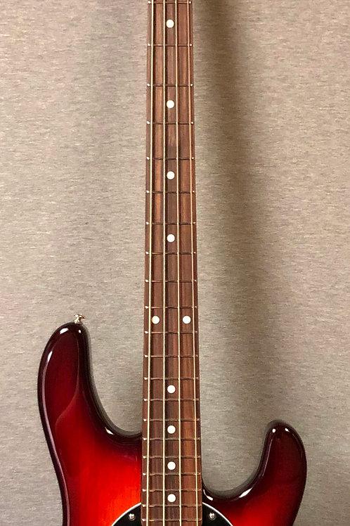 Ernie Ball Music Man Stingray Bass with Hard Shell Case