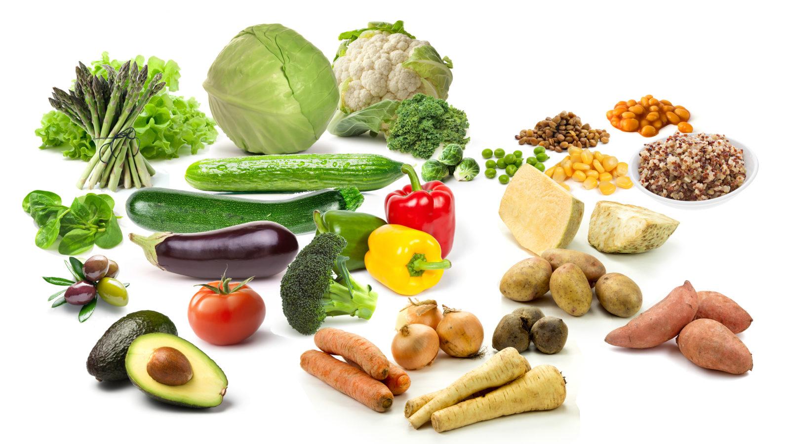 Низкоуглеводные Овощи