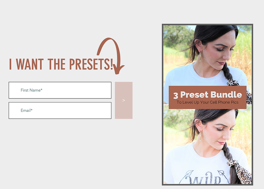 Preset Bundle for female entrepreneurs